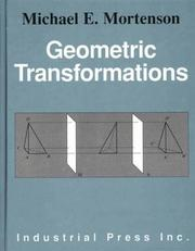Cover of: Geometric transformations