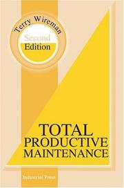 Cover of: Total Productive Maintenance