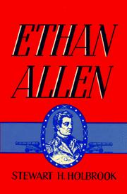 Ethan Allen by Stewart Hall Holbrook
