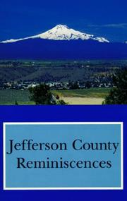 Cover of: Jefferson County reminiscences |