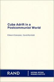Cover of: Cuba adrift in a postcommunist world