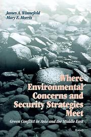 Where environmental concerns and security strategies meet by James A. Winnefeld