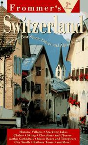 Cover of: Frommer's Switzerland