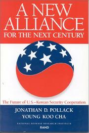 Cover of: A New Alliance for the Next Century | Jonathan D. Pollack