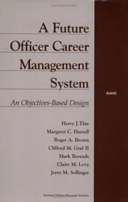Cover of: A future officer career management system |