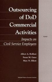 Cover of: Outsourcing of DoD commercial activities