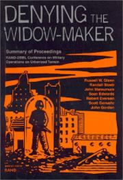 Cover of: Denying the Widow-Maker