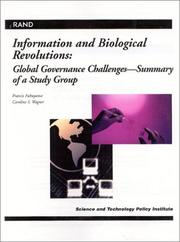 Cover of: Information and biological revolutions | Francis Fukuyama