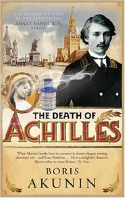Cover of: The Death of Achilles