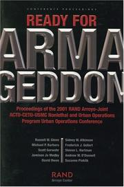 Cover of: Ready for Armageddon |