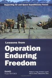 Cover of: Supporting Air and Space Expeditionary Forces | Robert S. Tripp