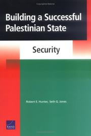 Cover of: Building a successful Palestinian state