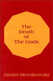 Cover of: The death of the gods