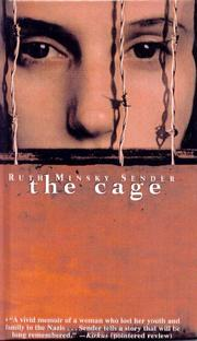 Cover of: Cage | Ruth Sender