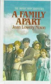 Cover of: A Family Apart