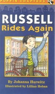Cover of: Russell Rides Again (Beech Tree Chapter Books) | Johanna Hurwitz