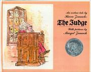 Cover of: The Judge | Harve Zemach