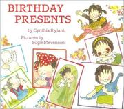 Cover of: Birthday presents