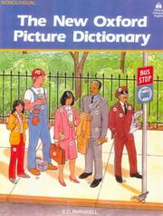 Cover of: The New Oxford Picture Dictionary