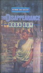 Cover of: Disappearance (Imamu Jones Mysteries)