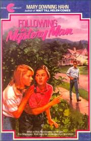 Cover of: Following the Mystery Man