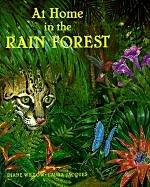 Cover of: At Home in the Rain Forest | Diane Willow