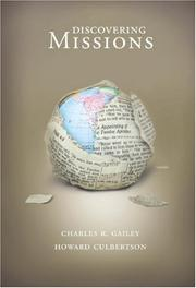Cover of: Discovering Missions | Charles R. Gailey