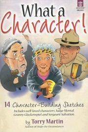Cover of: What a Character! | Torry Martin