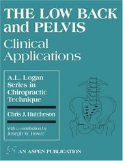 Cover of: The low back and pelvis