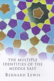 Cover of: Multiple Identities of the Middle East (Master Minds)
