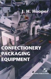 Cover of: Confectionery packaging equipment