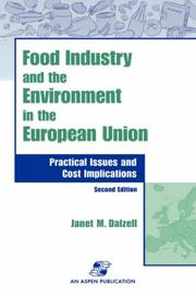 Cover of: Food industry and the environment in the European Union |