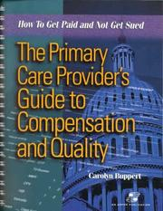 Cover of: The Primary Care Provider