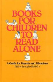 Cover of: Books for children to read alone