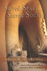 Cover of: Sacred Space, Sacred Sound