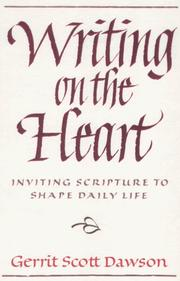 Cover of: Writing on the heart