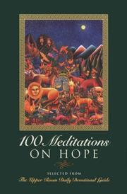 Cover of: 100 meditations on hope |