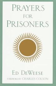 Cover of: Prayers for prisoners