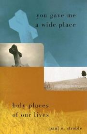 Cover of: You Gave Me a Wide Place: Holy Places of Our Lives