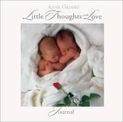 Cover of: Little Thoughts With Love Journal