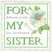 Cover of: For my sister | edited by Arlene F. Benedict.