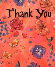 Cover of: Thank you
