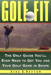 Cover of: Golf fit