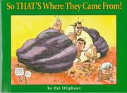 Cover of: So that's where they came from
