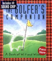 Cover of: The golfer's companion