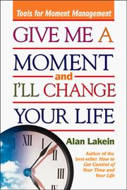 Cover of: Give Me a Moment and I
