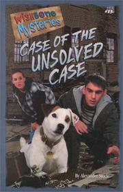 Cover of: Case of the unsolved case