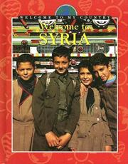 Cover of: Welcome To Syria (Welcome to My Country) |