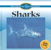 Cover of: Sharks (Welcome to the World of Animals) |