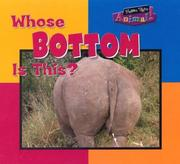Cover of: Whose Bottom Is This (Name That Animal) |